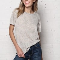 Project Social T Ace Striped Ringer Tee