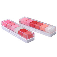 6 colors sexy women Lipstick combination Sweet moisturizing lip gloss lip gloss lip gloss Pop Bright Color Makeup For lips