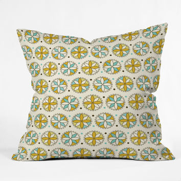 Heather Dutton Cartwheel Outdoor Throw Pillow