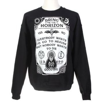 Bring Me The Horizon Spirit Board Crew Pullover