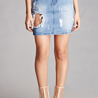 Pixie & Diamond Distressed Skirt