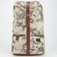 City Fellaz Tie Dye Bones Backpack Off White One Size For Men 24491616401