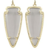 Skylar Earrings in Slate - Kendra Scott Jewelry