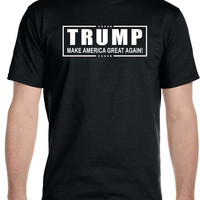 Donald TRUMP President T Shirt Make America Great Again! Official Logo
