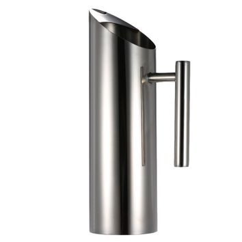 Stainless Steel Pitcher With Ice Guard Household