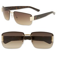 Men's Gucci Top Frame 61mm Sunglasses