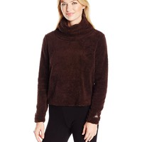 Alo Yoga Women's Asker Sherpa Crew Sweater