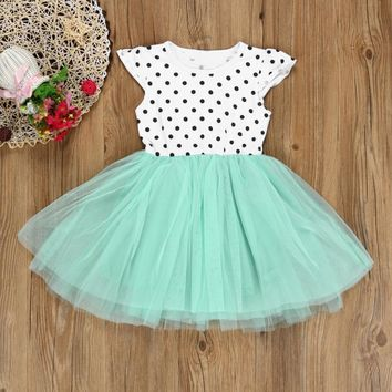 Baby Girl Dress - Polka Ballerina