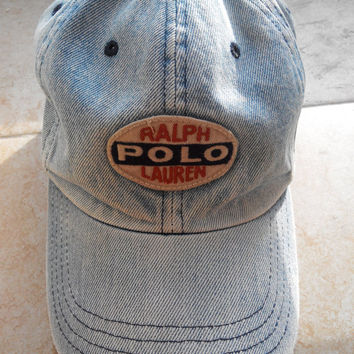 Vintage POLO SPORT By Ralph Lauren Hat Caps Rare Official Trademark Of Ralph Lauren