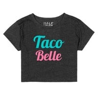 Taco Belle 3-Female Heather Onyx T-Shirt