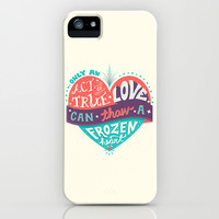 Frozen: Act of True Love iPhone & iPod Case by Risa Rodil