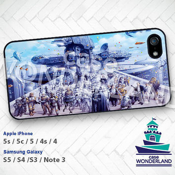 Star Wars, iPhone 5 case, iPhone 5C Case, iPhone 5S case, R2D2 iPhone 4 Case, iPhone 4S Case, Han Solo Samsung S3 S4 S5 Note3 -STW19