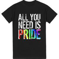Gay and Lesbian Pride- All you need is Pride