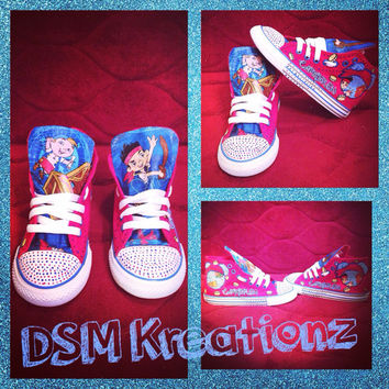 "Custom ""Jake & The Neverland Pirates"" Converse All Star Shoes"