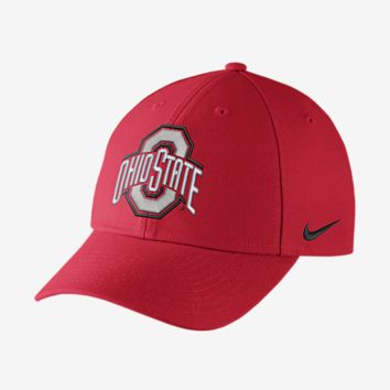 Ohio State Buckeyes Nike Dri-Fit Wool Classic Adjustable Hat