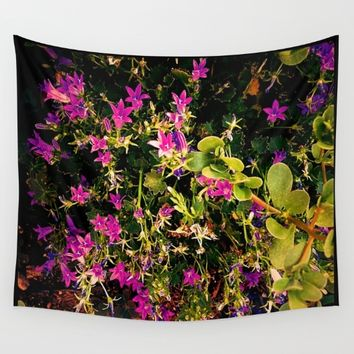 Fireworks Wall Tapestry by Jessica Ivy