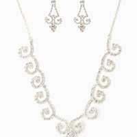 Frosted Curls Necklace Set | RSVP Special Occasion | charming charlie