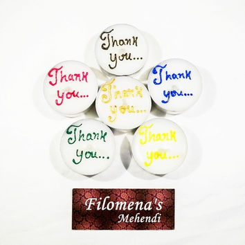 Thank you gift, Thank you candle, Colorful candle, Bridal party, Maid of honor gift, Bridal party gifts, Bridesmaid gift, Send a gift