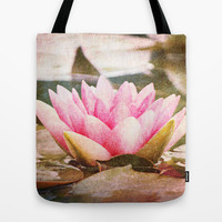 Lotus Tote Bag by Around the Island (Robin Epstein)