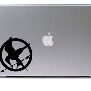 Mockingjay Decal / Macbook Decal / Macbook Sticker / Laptop Decal / Laptop Sticker