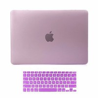 "Versality Hard Back Case and Matching Keyboard Cover for MacBook Pro 13.3"" with Retina Display (A1502 / A1425) - Lavender Matte"