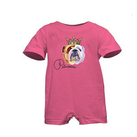 Rabbit Skins Infant Tee Romper - for girls