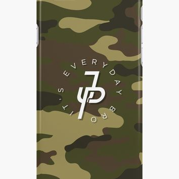 'Jake Paul geen camo' iPhone Case/Skin by JakePL