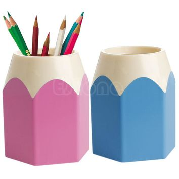Better Creative kawaii Pen Vase Pencil Pot Makeup Brush Holder Stationery Container Desk school Office accessories Tidy