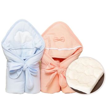 SexeMara Newborn Baby Stroller Envelope Blanket Infant Baby Sleeping Bag Receiving Sleepsacks Wrap Swaddle