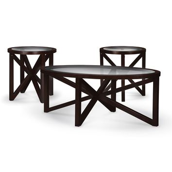 Starburst Occasional Tables 3-Pack Tables - Value City Furniture