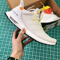 Off-white X Adidas Ultra Boost 4.0 White Sport Running Shoes - Best Online Sale