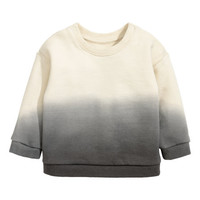Cotton Sweatshirt - from H&M