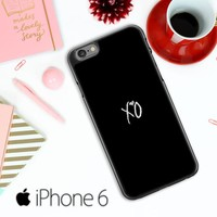 Xo The Weeknd Text Logo E0981 iPhone 6 / 6S Case