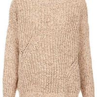 Knitted Chunky Rib Jumper