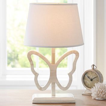 Inlay Butterfly Complete Lamp