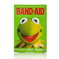 Band-Aid Decorative Adhesive Bandages, The Muppets, Assorted 20 Count (Pack of 3)