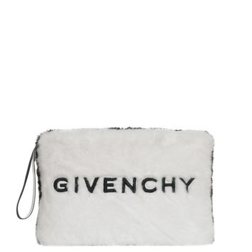 Faux-Fur Clutch by Givenchy
