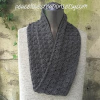 Cashmere Blend Infinity Scarf~Ready to Ship~FREE SHIPPING