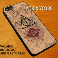 Harry Potter Marauders Map,Accessories,Case,Cell Phone,iPhone 5/5S/5C,iPhone 4/4S,Samsung Galaxy S3,Samsung Galaxy S4,Rubber,24-06-4-Xm