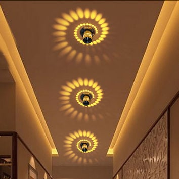 Creative Wall Light Small LED Ceiling Light for Art Gallery Decoration Front Balcony lamp Porch light corridors Light Fixture