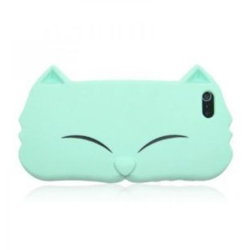 Cute Cat Face Soft silicon case for iPhone 4 / 4S