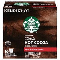 Starbucks® Classic Hot Cocoa - K Cup Pods - 16ct