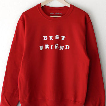 Best Friend Oversized Sweater