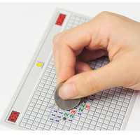 welcome connect design - ! scratch off game post card unique gift minesweeper