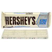 Hershey's Cookies n Creme King Size Candy Bars: 18-Piece Box