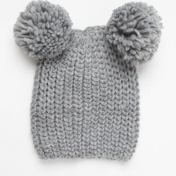 LA Hearts Knit Double Pom-Pom Beanie at PacSun.com