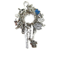 Serenity's Charms: A Firefly Key Ring