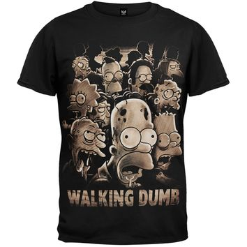 Simpsons - Walking Dumb T-Shirt