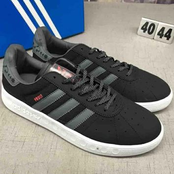 Adidas GAZELLE SHOES 2018 leisure quality fashionable sports SHOES F-CSXY dark grey