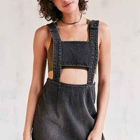 Evil Twin Momentary Cutout Denim Overall Mini Dress - Urban Outfitters